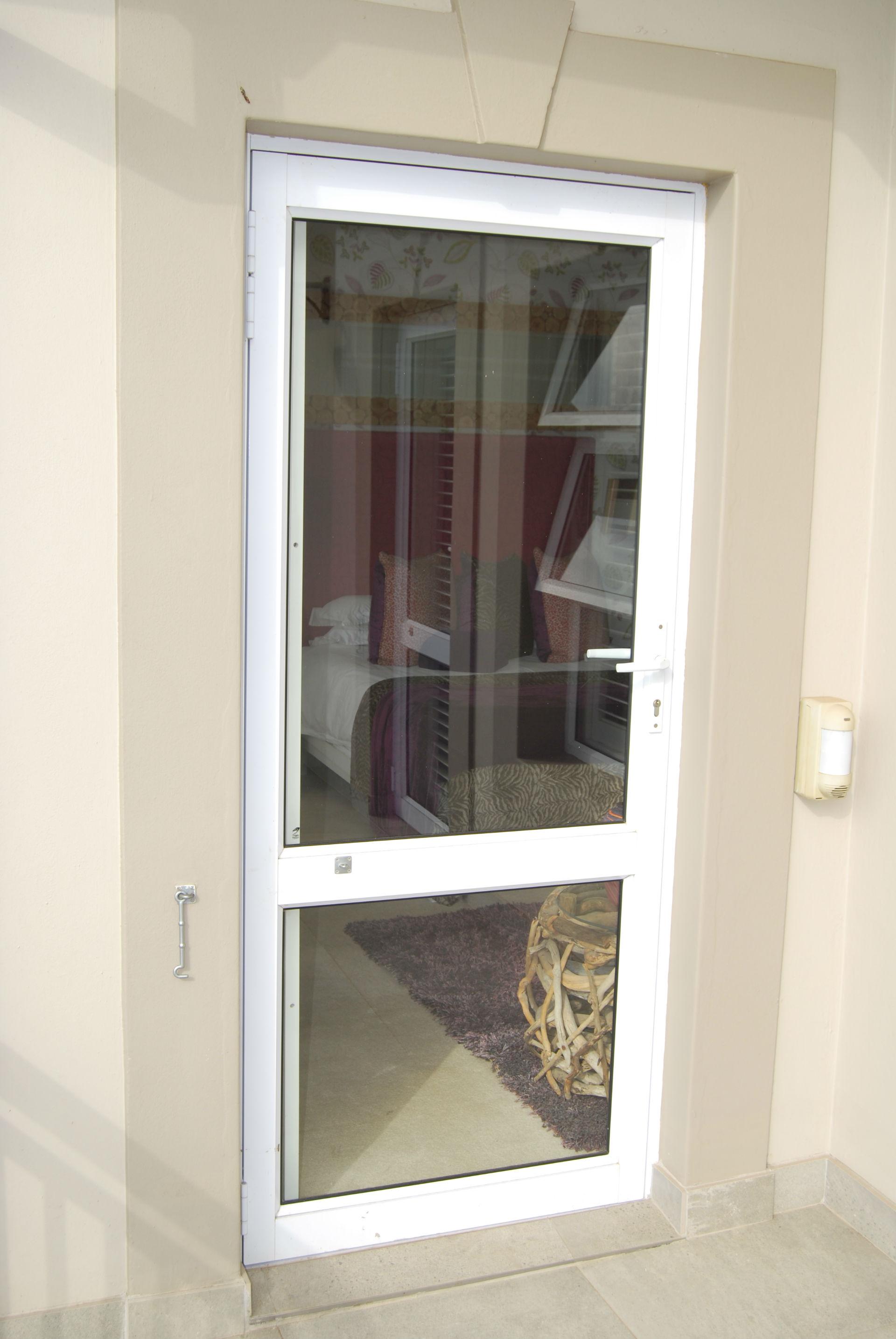 Hinge Door With Mid Rail W1920 Pg Aluminium Kzn